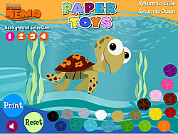 Finding Nemo – Paper Toys