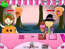 Halloween Ice Cream Treats
