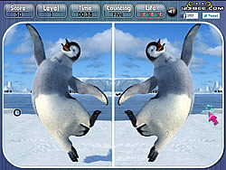 Happy Feet Spot the Difference