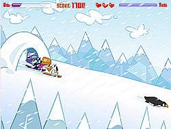 Hi Hi Puppy Ami Yumi – Snow Scooter