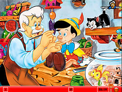 Hidden Numbers – Pinocchio