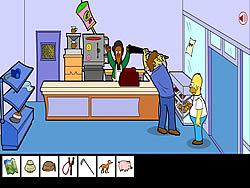 Homero Simpson Saw Game
