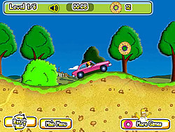 Homers Donut Run 2 Game Fungames Com Play Fun Free Games