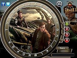Jack the Giant Slayer – Find the Alphabets