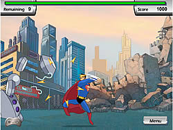 Justice League Training Academy – Superman