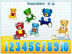 Kids Counting Teddy Bears
