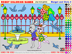 Margot and Chris 4 – Rossy Coloring