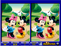 Mickey Mouse 6 Differences