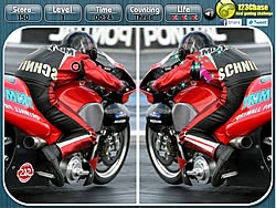 Motoracing – Spot the Difference