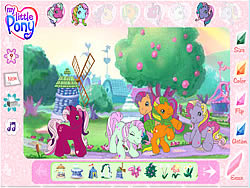 My Little Pony Friendship Ball Game Fungames Com