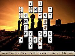 Mysterious Sculptures Mahjong