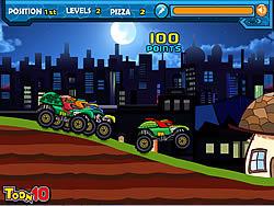 Ninja Monster Trucks