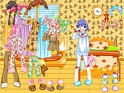 Pajama Dressup