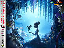 Princess and the Frog Hidden Alphabets