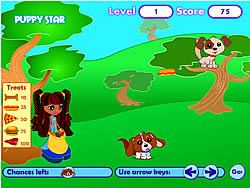 Puppy Star – Puppy Treat Game