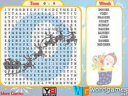 Reindeers Word Search