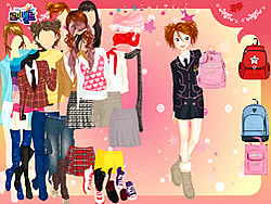 School Bag Dressup
