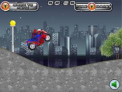 Spiderman Motobike
