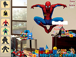 Superheroes Hidden Object