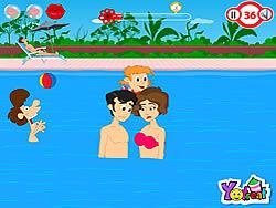 Swimming Pool Kiss