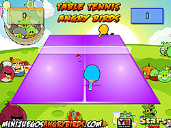 Table Tennis Angry Birds