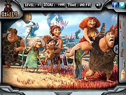 The Croods – Hidden Objects