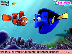Baby Nemo Hidden Letters