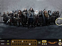 The Hobbit – Find the Alphabet