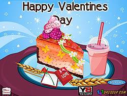 Valentines Cheesecake Decor