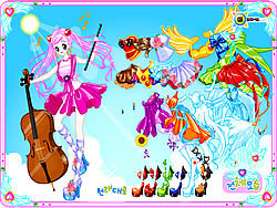Violin Dressup