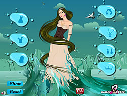 Water Fantasy Girl Dress Up