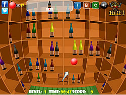 Bottle Shooting Game