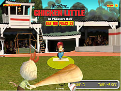 Chicken Little – Batting Practice