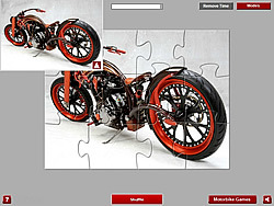 Chooper Bike Jigsaw