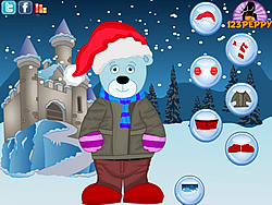 Christmas Bear Dress Up